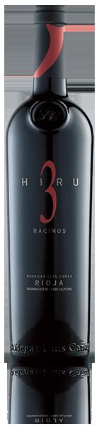 botella Hiru 3 Racimos